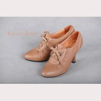 Classical Puppets Steam Victorian Leather Shoes