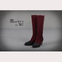 Classical Puppets Master's-Mr.Bone Leather Boots