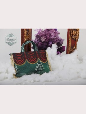 Classical Puppets Elisabeth+Xmas's Eve Laptop Bag