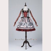 Classical Puppets Another Alice Vest Dress JSK (Fake Two Pieces)