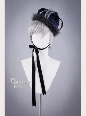 Classical Puppets Master's-Blue Rose Crown Hat