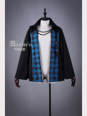 Classical Puppets Master's-Blue Rose Corona Cape Coat