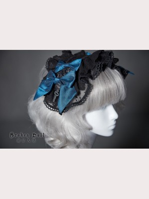 Classical Puppets The Broken Doll Ribbon Headbow