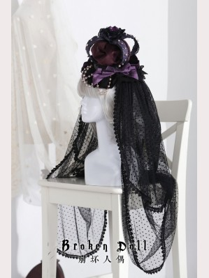 Classical Puppets The Bride Doll Crown Veil