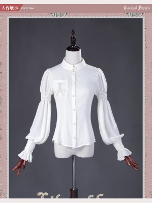 Classical Puppets Lily And Key Long Sleeve Blouse