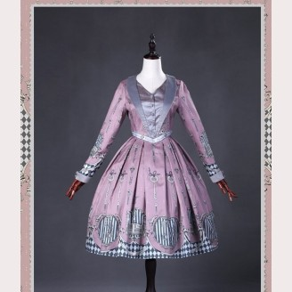 Classical Puppets Lily And Key Long Sleeve Dress OP