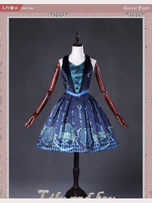Classical Puppets Lily And Key Dress JSK
