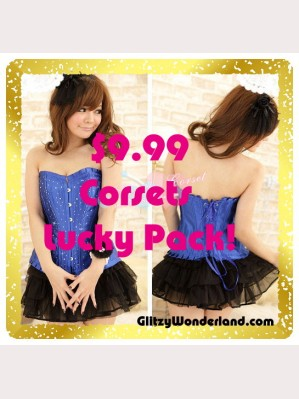 Special offer! $9.99 Corsets Lucky Pack