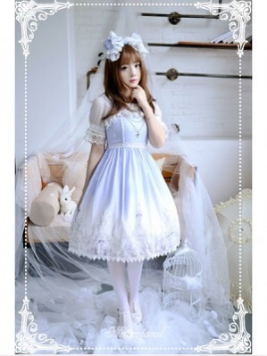 Souffle Song Angel's Feather Lolita Dress JSK