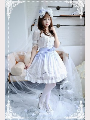 Souffle Song Angel's Feather Lolita Skirt SK