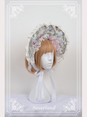 Souffle Song Antique Clock Lolita Bonnet