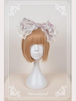 Souffle Song Antique Clock Lolita Headbow