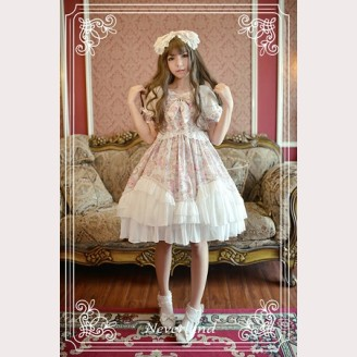 Souffle Song Antique Clock Lolita Dress OP