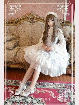 Souffle Song Antique Clock Lolita Dress JSK - Design 2