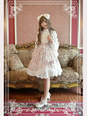 Souffle Song Antique Clock Lolita Skirt SK