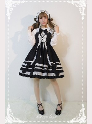 Souffle Song Antique Dolls Lolita Dress JSK - Design 2