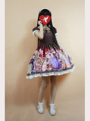 Souffle Song The Astronomical Clock Lolita Dress OP