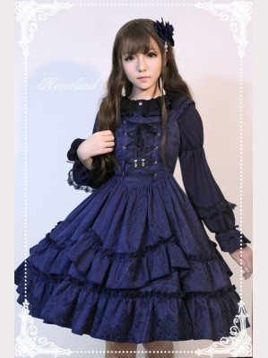 Souffle Song Autumn Whisper Lolita Dress JSK
