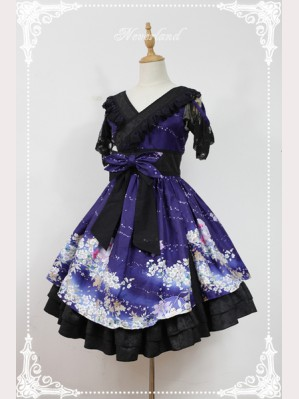 Souffle Song Beginning of January Lolita Dress JSK