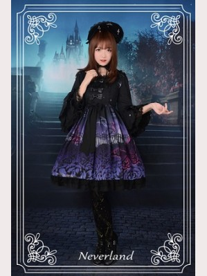 Souffle Song Butterfly Cemetery Lolita Dress OP