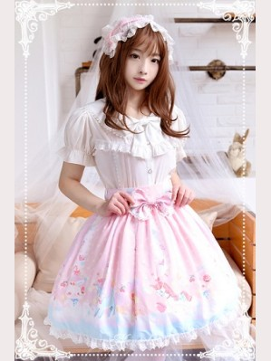 Souffle Song Candy Paradise Lolita Skirt SK