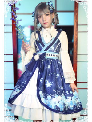 Souffle Song The Snow Women Lolita Dress JSK
