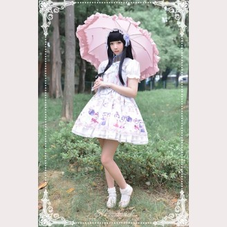 Souffle Song Chinese Walking Cat Lolita Dress JSK - Design 3