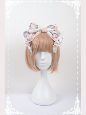 Souffle Song Chinese Walking Cat Lolita Headbow