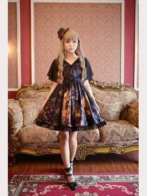 Souffle Song Choosing Frill Sleeve Lolita Dress JSK