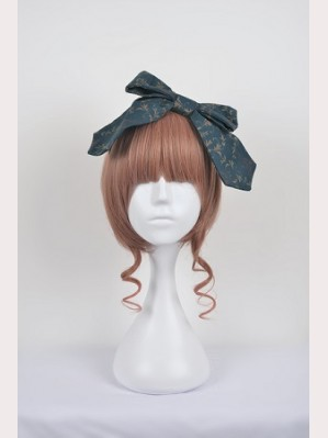 Souffle Song Clock Fairy Lolita Headbow
