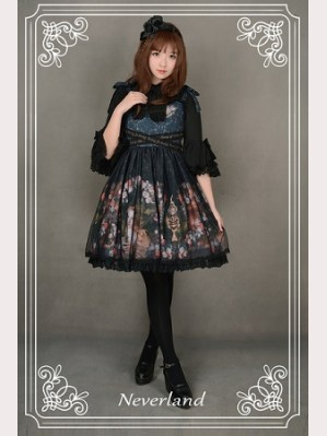 Souffle Song Clock Fairy Lolita Dress JSK
