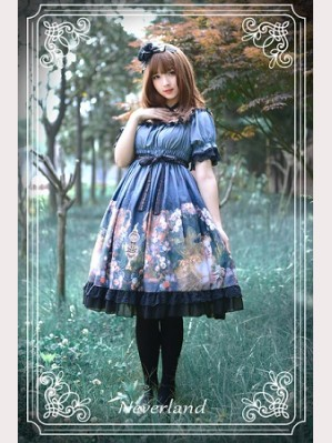 Souffle Song Clock Fairy Lolita Dress OP
