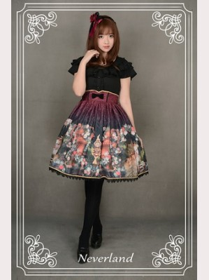 Souffle Song Clock Fairy Lolita Skirt SK