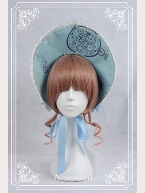 Souffle Song Clock Gears Lolita Bonnet