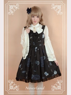 Souffle Song Clock Gears Lolita Dress JSK