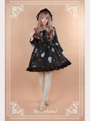 Souffle Song Clock Gears Lolita Dress OP