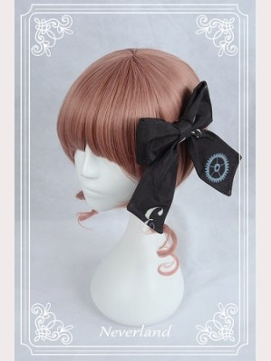 Souffle Song Clock Gears Lolita Headclip