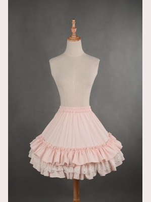 Souffle Song Cool Summer Layered Tutu Petticoat - Short