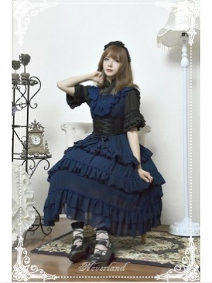 Souffle Song Colorful Fairy Tale Lolita Dress JSK