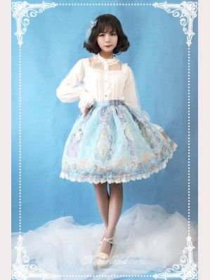 Souffle Song Crystal Palace Lolita Skirt SK