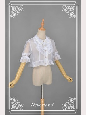 Souffle Song Crystal Shell Lolita Blouse