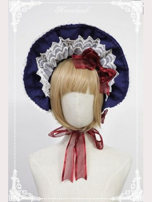 Souffle Song Snow White Lolita Bonnet