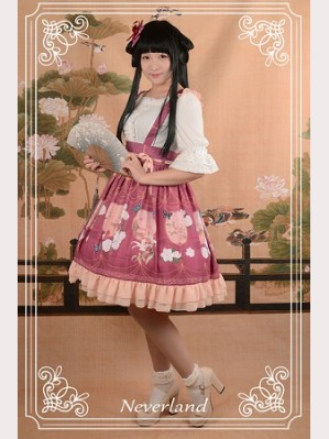 Souffle Song The Richly Painted Zither Lolita Skirt SK