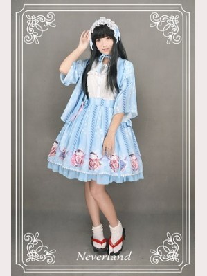 Souffle Song Japanese Fortune Cat Lolita Haori