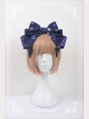 Souffle Song Japanese Fortune Cat Lolita Headbow