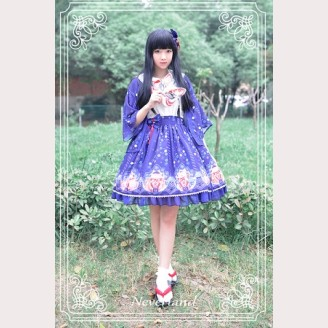 Souffle Song Japanese Fortune Cat Lolita Skirt SK