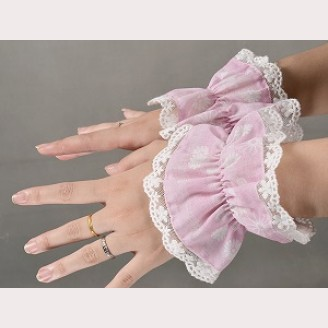 Souffle Song Japanese Fortune Cat Lolita Wrist Cuffs