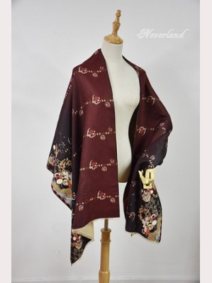 Souffle Song Japanese Print Lolita Scarf