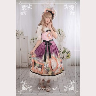 Souffle Song Kitty Courtyard Lolita Bonnet