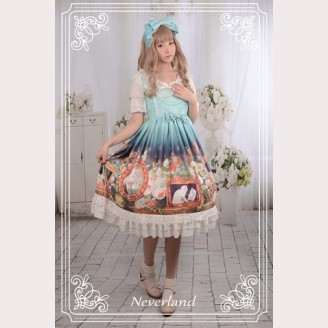 Souffle Song Kitty Courtyard Lolita Dress OP